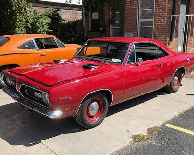 1969 Plymouth Barracuda Formula S 2 DR. Coupe