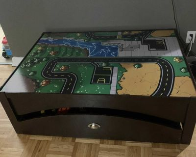 Wood Play Table - less than 1 year old
