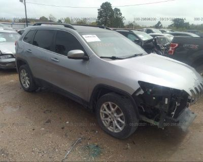 Salvage Gray 2016 Jeep Cherokee