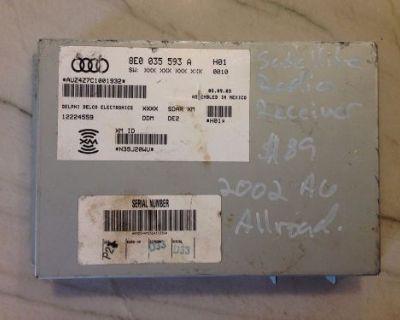 2006-2010 Audi S4 A4 Sirius Satellite Radio Receiver 8e0035593k - 8e0 035 593 K