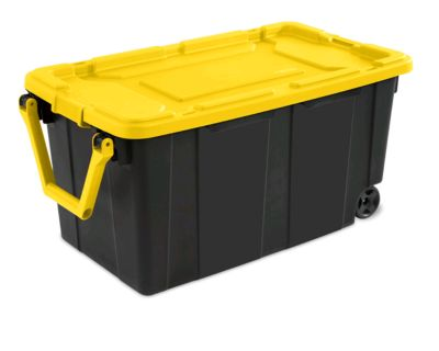 Rolling storage container