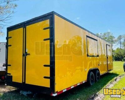 2021 - 8.5' x 26' Kitchen Food Trailer / Used Mobile Kitchen