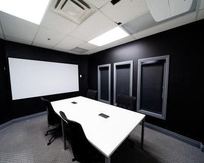 Creative Conference Room w/ Podcast Capabilities, Brampton