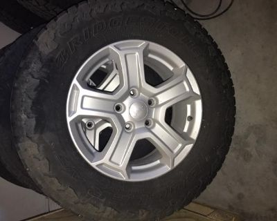 Tires/Wheels-2018 Jeep Wrangler Unlimited Sport S-Reduced