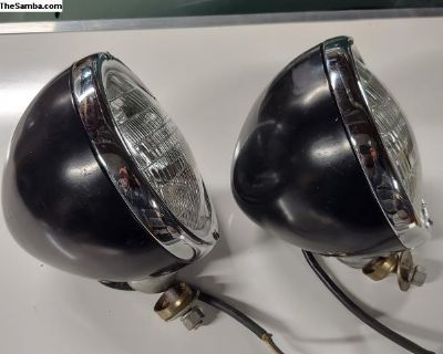 Signal-Stat 680 Vintage Headlights Buggy Rail