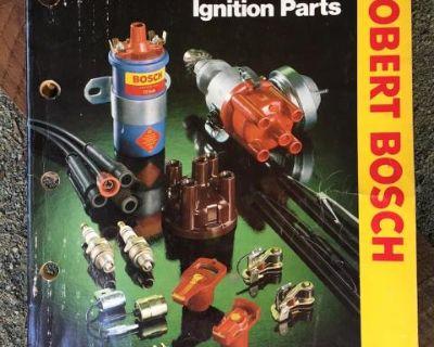 Robert Bosch 1981 Ignition Parts Catalog