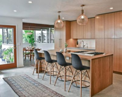 Mid Century Modern Wood Island Kitchen in Mt Washington, great for cooking shoots!, Los Angeles, CA