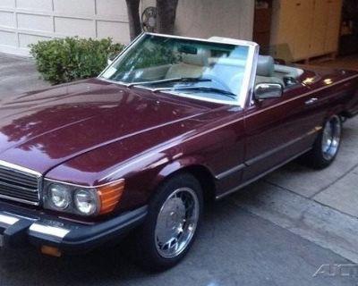 1985 Mercedes-Benz 380 2 Dr Convertible
