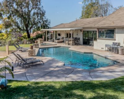 Contemporary home and huge picturesque backyard with views, Anaheim Hills, CA