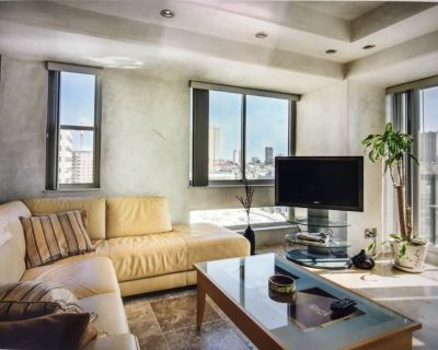 1 bd, 1 be Condo. Views, gym, pool, jacuzzi, sauna, 24 hours security - Cathedral Hill