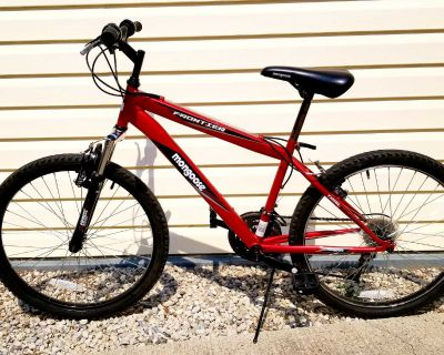 """24"""" Red Mongoose Frontier Hardtail Mountain Bike in GUC"""