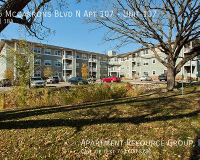 1bed/1 bath for Rent at McCarrons Ponds!
