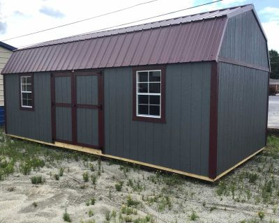 12x24 lofted barn. Rent to own. No credit check