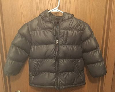 Boys Winter Coat with hood size 4