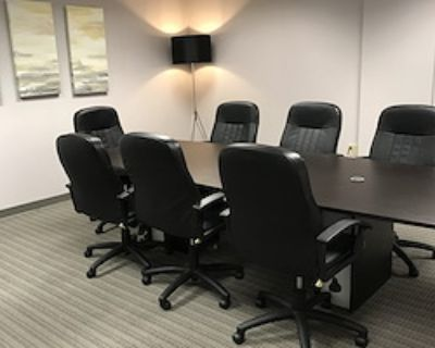 Private Meeting Room for 10 at Peachtree Offices at Lenox, Inc.