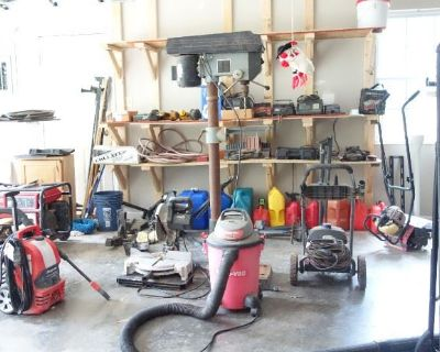 ESTATE SALE CLEANOUT - One Day Only - TOOLS, ELECTRONICS, LOTS MORE