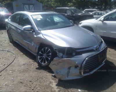 Salvage Silver 2016 Toyota Avalon