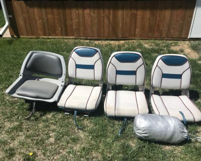 Boat Seats and boat cover