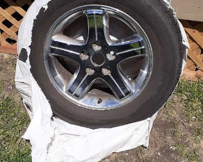 225x60x16 tire and mag.