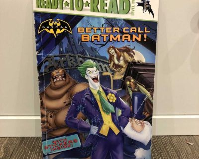 Level 2 Batman Reader with Stickers