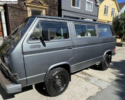 1987 VW Vanagon Syncro Tintop [107k Miles]