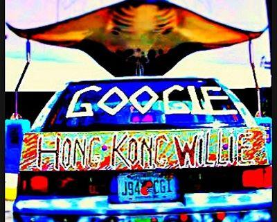 Famous Google Recycling Artist,Hong Kong Willie Art ,Blue Marlin Dream of Key West.$225,000