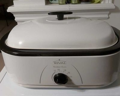 Rival electric roaster oven