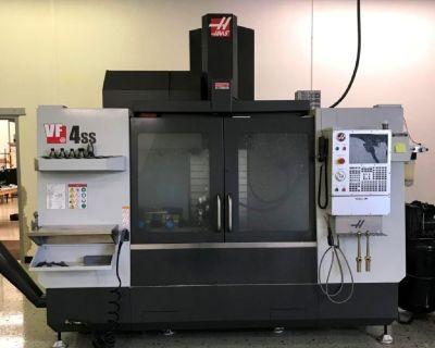 2018 Haas VF4SS Vertical Machine Center | Haas VF4 Super Speed
