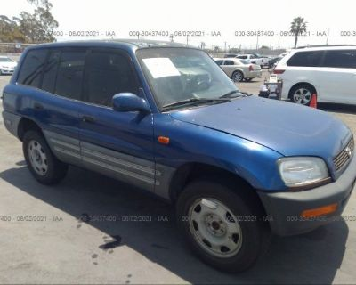 Salvage Blue 1997 Toyota Rav4