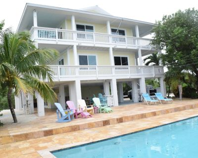 Views! Waterfront Niles Channel Pool/dock Industerial Ice Maker - Summerland Key
