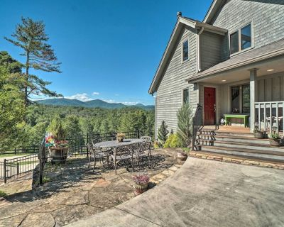 Hilltop Home w/ Panoramic Forest & Mountain Views! - Dahlonega