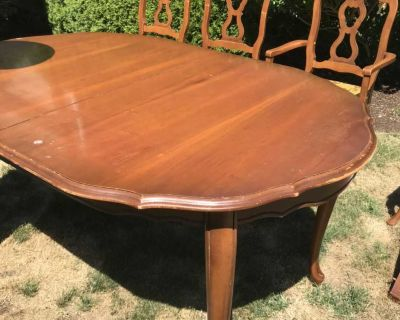 Antique Table and chairs FREE