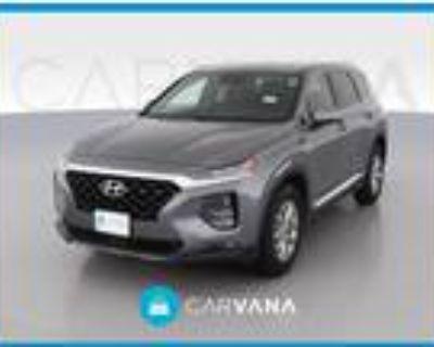 2019 Hyundai Santa Fe Gray, 28K miles