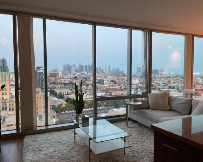 Koreatown Apartment with Downtown Skyline View, Los Angeles, CA