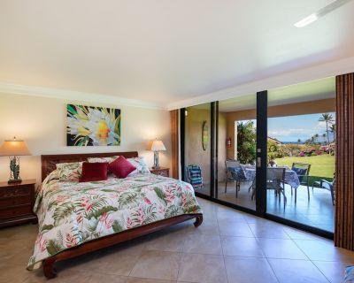 16B; Ocean View, Quiet Beachfront King Studio in Luxurious Wailea Ekahi Resort - Wailea