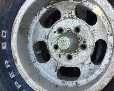 14x8 Us U.s. Indy Mag Wheel Magnesium Gm Chevrolet 1960's