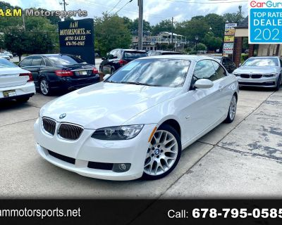2008 BMW 3-Series 328i Convertible W/Sport Package