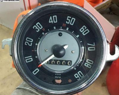Refurbished/restored 9/66 speedometer