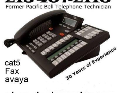PHONE JACK REPAIR.CAT5.UVERSE,SPECTRUM,AVAYA,NORTEL.XBLUE
