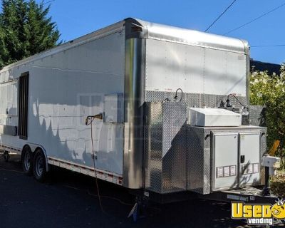 2018 8' x 24' Mobile Kitchen Trailer with Ansul Fire Suppression System