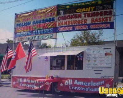 2009 Homesteader 8' x 20' Food Concession Trailer / Mobile Kitchen Unit
