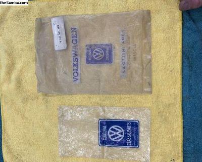 Original VW packaging bags