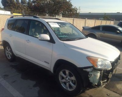Salvage White 2012 Toyota Rav4
