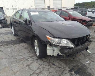 Salvage Brown 2014 Lexus Es 350