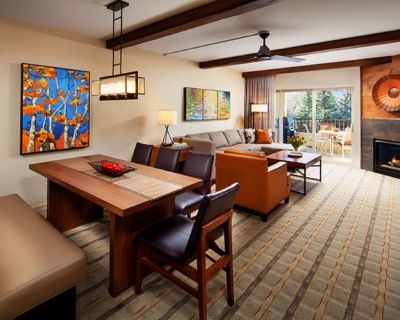 Spacious Beaver Creek villa--1400sq ft, 2 bedrooms, Den, Living Rm, full kitchen - Avon