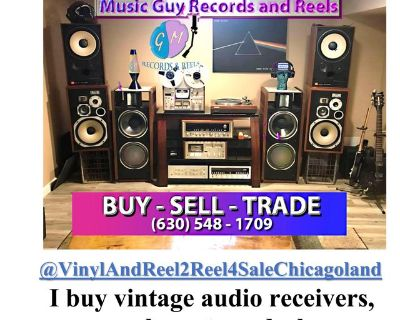 Vintage Home Audio Equipment- Get a complete system