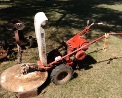 Gravely Tractor and attachments