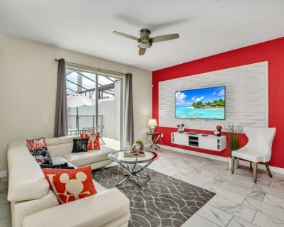 New Storey Lake 4 Bedroom Townhome With Pool - Kissimmee