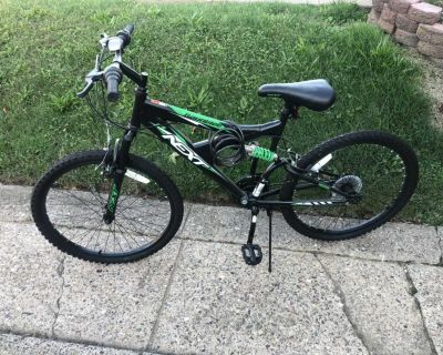 Excellent condition-will need air or new tubes in tires-garage kept only used a few times-24 boys/men s bike-pick up 19154-cross posted