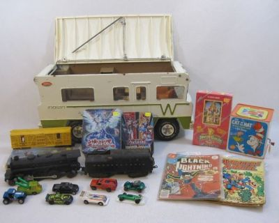 March 10th Trains, Cars, Classic Toys, Comics & More Online Auction